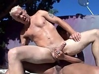 Tranny Fucks Man & Gets Fucked Hardcore In The Ass