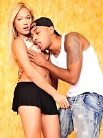 Tgirl Teen Luana fucked by Andre